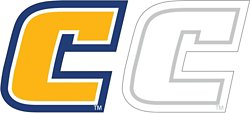 """Stockdale University of Tennessee at Chattanooga 4"""" X 7"""" Logo Decals 2-Pack"""