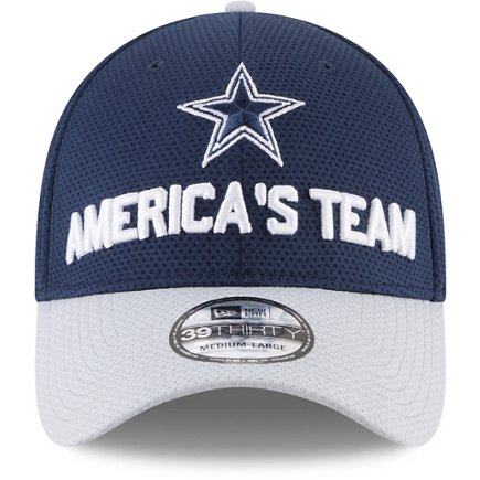 c86810329de69 ... purchase new era mens dallas cowboys 2018 draft 39thirty cap 19323 f0fd7
