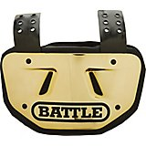 Battle Men's Football Chrome Back Plate