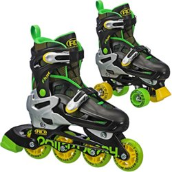 Roller Derby Boys' Flux In-Line/Quad Combo Skates