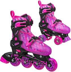Roller Derby Girls' Flux In-Line/Quad Combo Skates