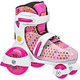 Roller Derby Girls' Fun Roll Jr Adjustable Quad Roller Skates