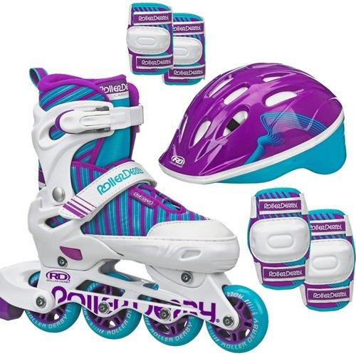 Roller Derby Girls' Carver In-Line Skate Set