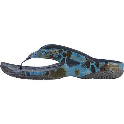 4b222a4c4e1b Crocs Men s Swiftwater Kryptek Neptune Deck Flip Flops