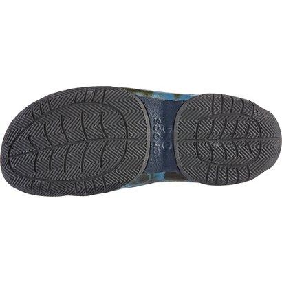 44cbb0738ee0 Crocs Men s Swiftwater Kryptek Neptune Deck Flip Flops