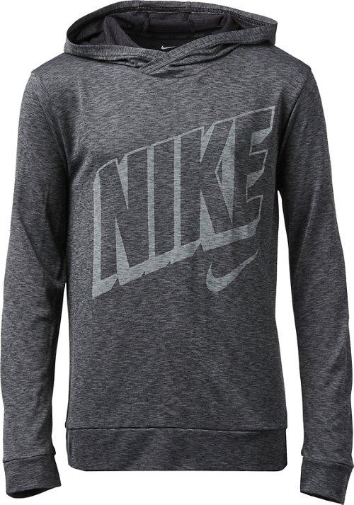 Nike Boys' Breathe Long Sleeve Hooded Training Top by Nike