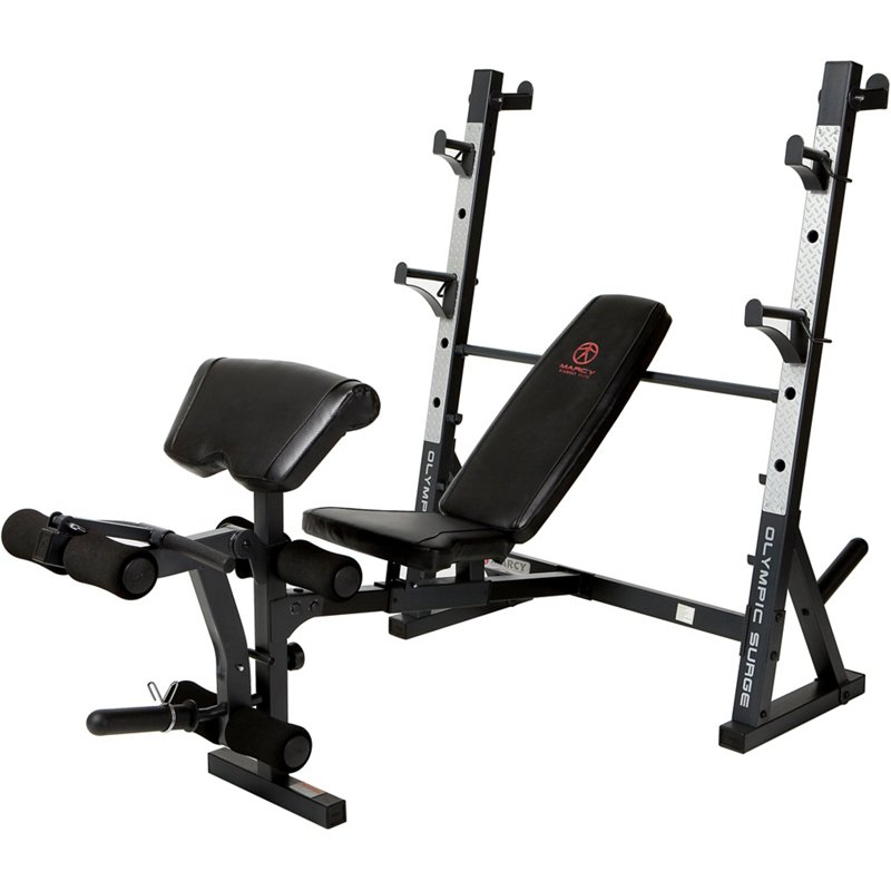 Marcy Diamond Elite Olympic Weight Bench - Weight Benches at Academy Sports