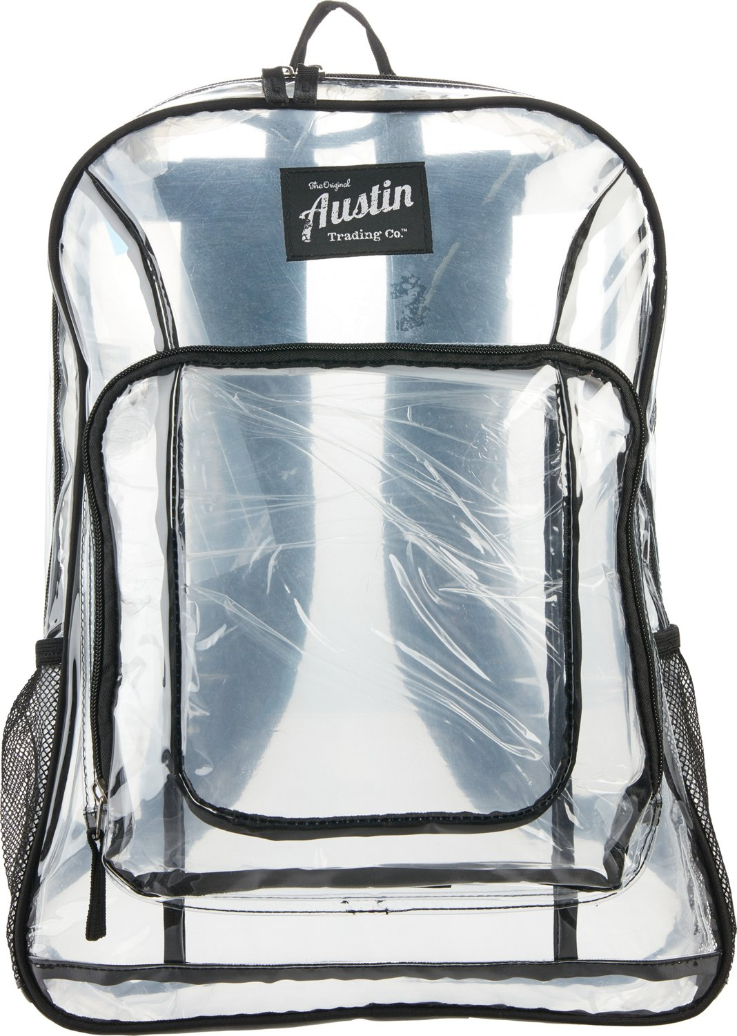 5cdcd6c490d2 Display product reviews for Austin Trading Co. Clear Backpack