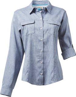Magellan Outdoors Women's Aransas Pass Long Sleeve Shirt
