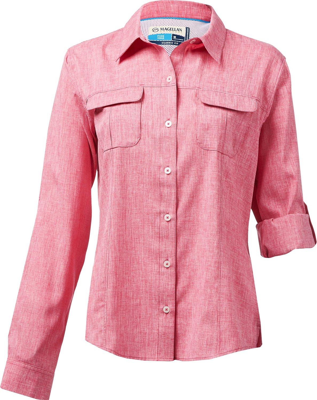 affe427e4234 Display product reviews for Magellan Outdoors Women s Aransas Pass Long  Sleeve Shirt