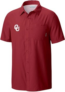 Men's University of Oklahoma Slack Tide Camp Shirt