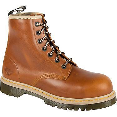 ea27ce83810 Dr. Martens Men's Icon 7B10 Steel Toe Lace Low Work Boots