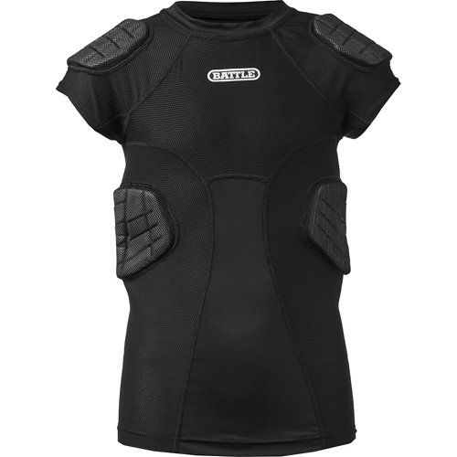 Battle Boys' Integrated Compression Football Top