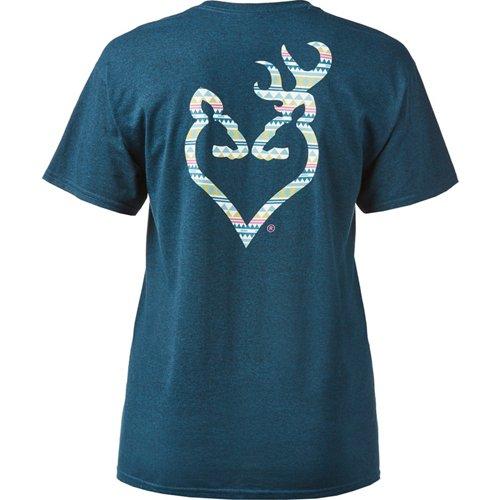 Browning Women's Classic Native Buckheart T-shirt