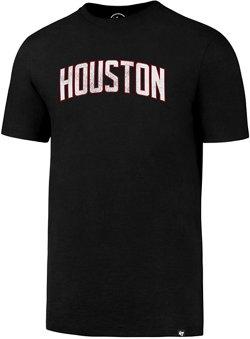 '47 Houston Rockets Wordmark Knockaround Splitter T-shirt