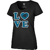 '47 Carolina Panthers Women's Love Club T-shirt