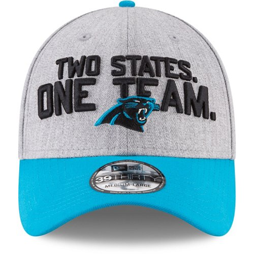 2948eb5278e ... uk new era mens carolina panthers draft on stage 39thirty cap view  number fce65 cb0be
