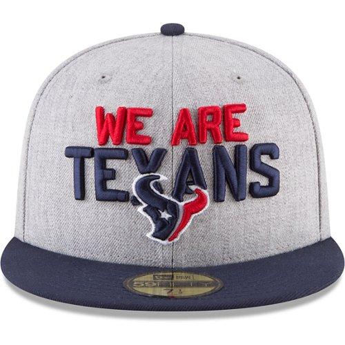 New Era Houston Texans 2018 NFL Draft On-Stage 59Fifty Cap