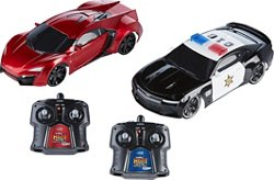 Jada HyperChargers Heat Chase RC Cars Twin Pack