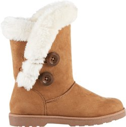 Magellan Outdoors Women's 2-Button Fur Boots