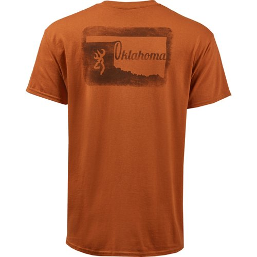 Browning Men's Classic Oklahoma Outer Stamp T-shirt