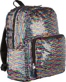 Confetti Kids' Allover Flip Sequin Backpack