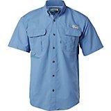 22df6589516 Magellan Outdoors Men s Laguna Madre Solid Short Sleeve Fishing Shirt