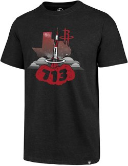 '47 Houston Rockets 713 Rocket Ship Regional Club T-shirt