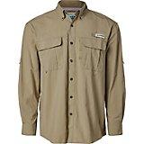 34214291b48 Magellan Outdoors Men s Laguna Madre Solid Long Sleeve Fishing Shirt