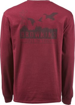 Browning Men's Classic Field to Table Duck Long Sleeve T-shirt
