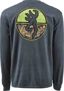 Browning Men's Classic Realtree Edge Circles Long Sleeve T-shirt