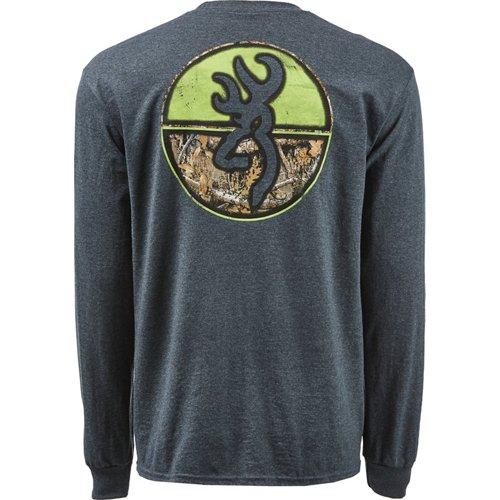 Browning Men's Classic Realtree Edge Circles Long Sleeve T-shirt