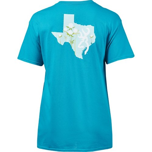 Browning Women's Classic Cotton Buds Texas T-shirt