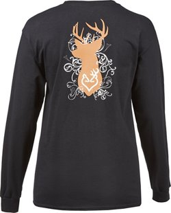 Browning Women's Classic Flourish Bust Long Sleeve T-shirt