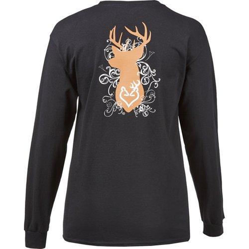 Browning Women's Classic Flourish Bust Long Sleeve T-shirt