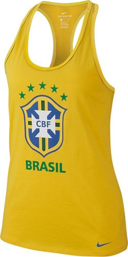 Women's Brasil CBF Dri-FIT Tank Top
