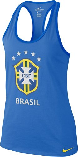 Nike Women's Brasil CBF Dri-FIT Tank Top