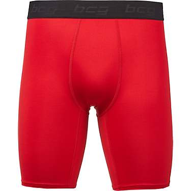 BCG Men's Performance 9 in Solid Compression Briefs