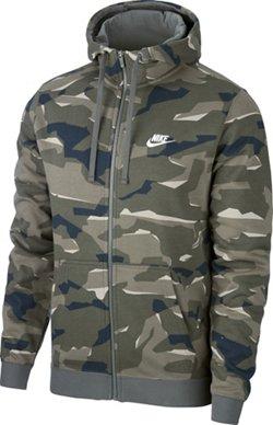 Nike Men's Camo Full-Zip Hoodie