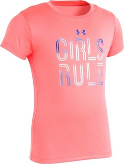 Under Armour Toddler Girls' Rule T-shirt