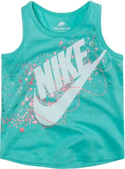 Nike Toddler Girls' Futura Bubbles A-Line Tank Top