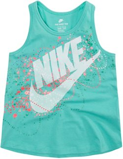Nike Girls' Littles Futura Bubbles A-Line Tank Top