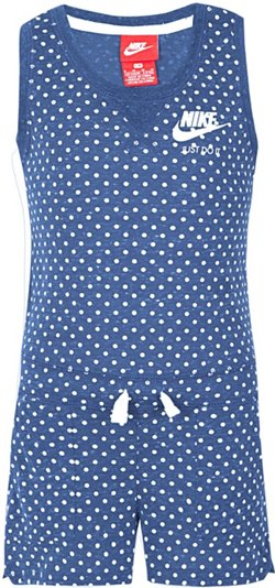 Nike Toddler Girls' Gym Vintage AOP Romper