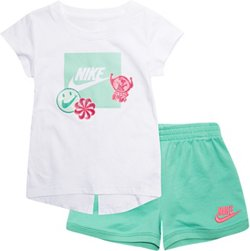 Nike Toddler Girls' DNA Shirt and Shorts Set