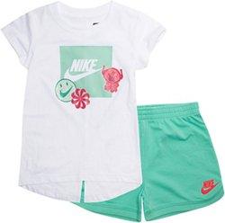 Nike Girls' DNA Shirt and Shorts Set
