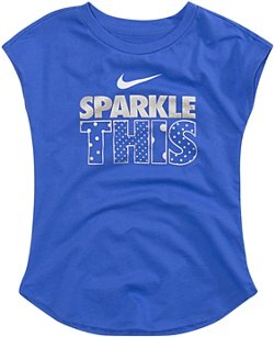 Nike Girls' 4-7 Sparkle This Modern T-shirt