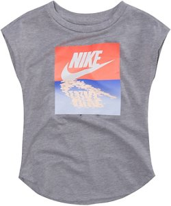 Nike Toddler Girls' Sunset Futura T-shirt