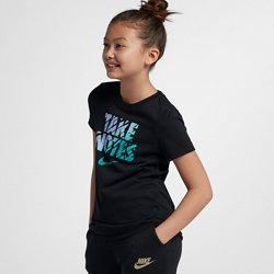 Nike Girls' Take Notes Training T-shirt