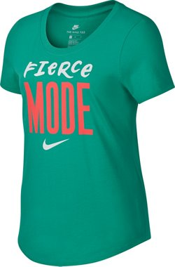 Nike Girls' Sportswear Fierce Mode Short Sleeve T-shirt