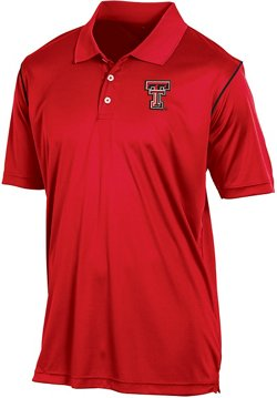 Champion Men's Texas Tech University Play Clock Polo Shirt